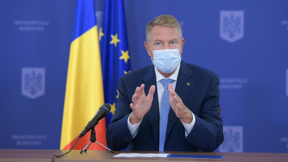 Iohannis: nu ne putem permite ca sistemul sanitar să fie nevoit să gestioneze o dublă epidemie - gripă şi COVID-19