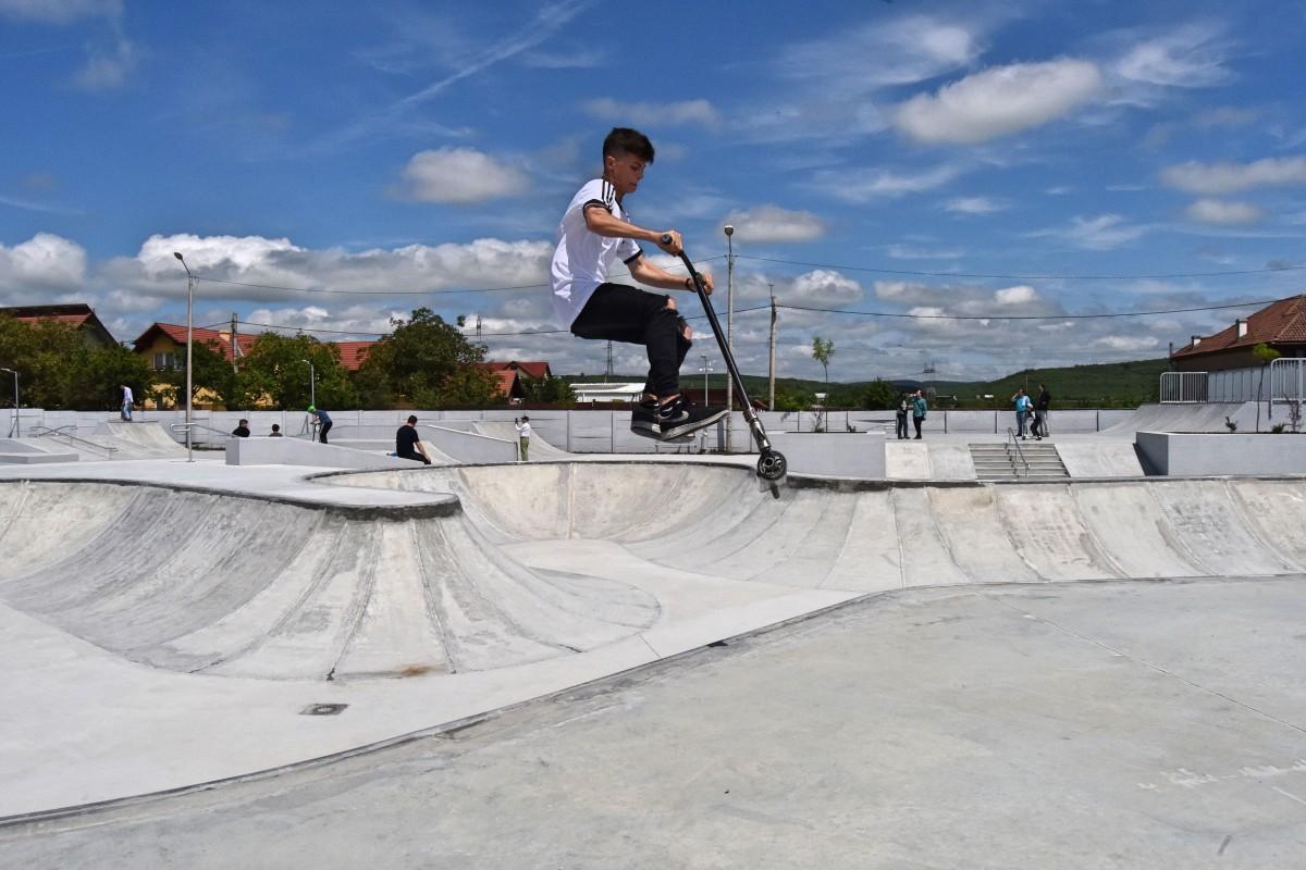 Primăria organizează primul concurs în skatepark-ul din Sibiu. Cei care nu au cont Facebook, nu pot participa