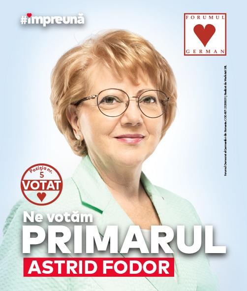 Interviu video: Astrid Fodor, despre provocările ultimilor patru ani