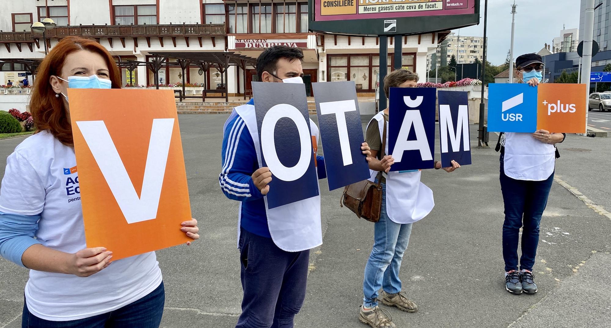 Un vot pentru USR PLUS înseamnă să duci vocea ta în administrația locală. Hai la vot și schimbă fața politicii locale!