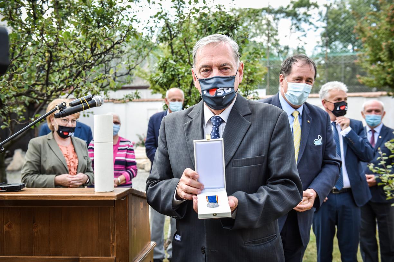 """FDGR a primit medalia """"Centenarul Marii Uniri"""". A fost înmânată de consilierul prezidențial"""