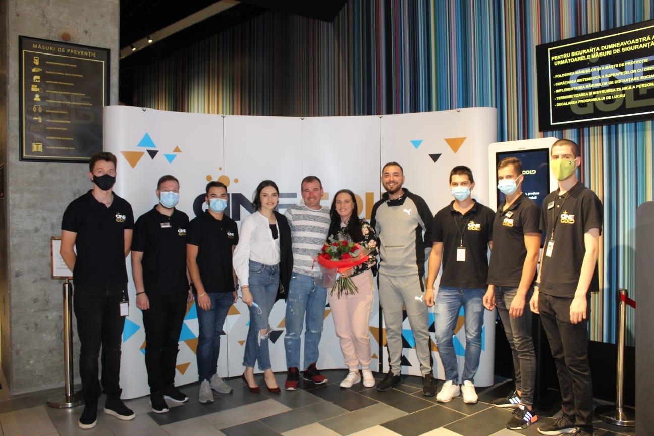 Tradiție nouă la CineGOLD Sibiu: Cerere în căsătorie în timpul filmului