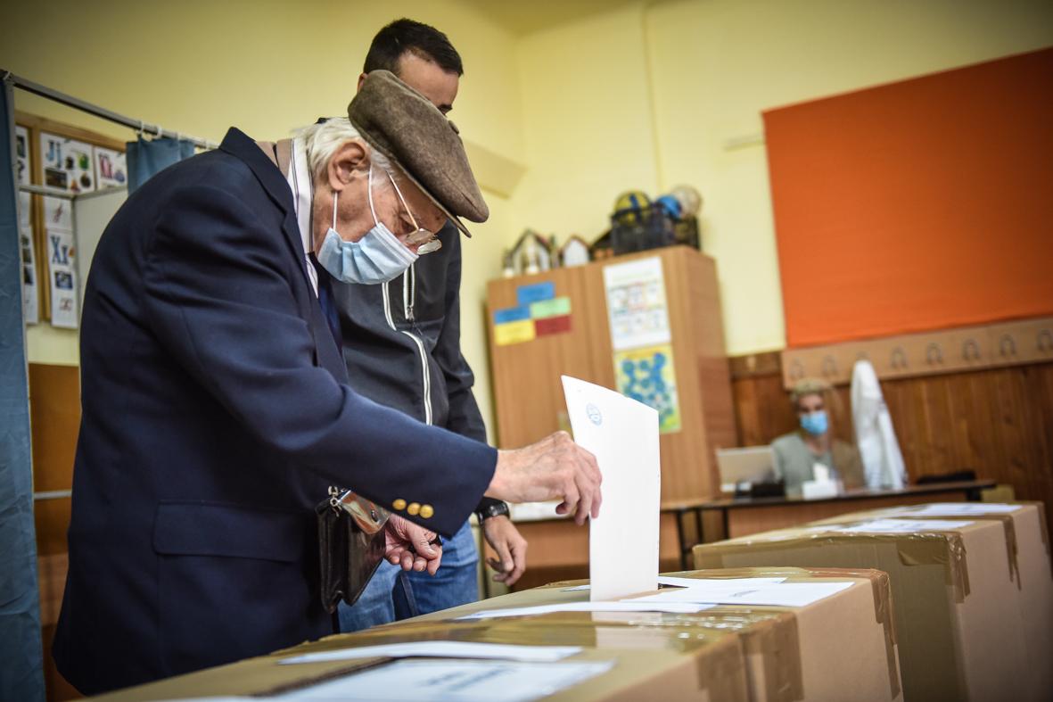 Alegeri în pandemie. Prezența la vot în Sibiu, sub ce a fost acum patru ani.