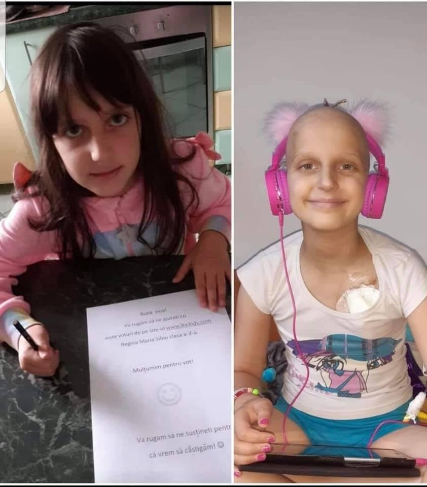 Bazar caritabil pentru Denisa, fetița de 9 ani care are nevoie de ajutor