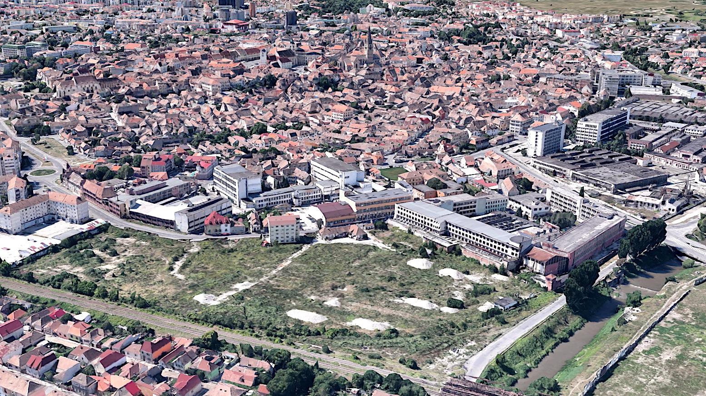 """Schimbarea la față a Sibiului. Libertatea-Amylon: blocuri mici, blocuri medii, spații verzi și """"mobilitate blândă"""""""