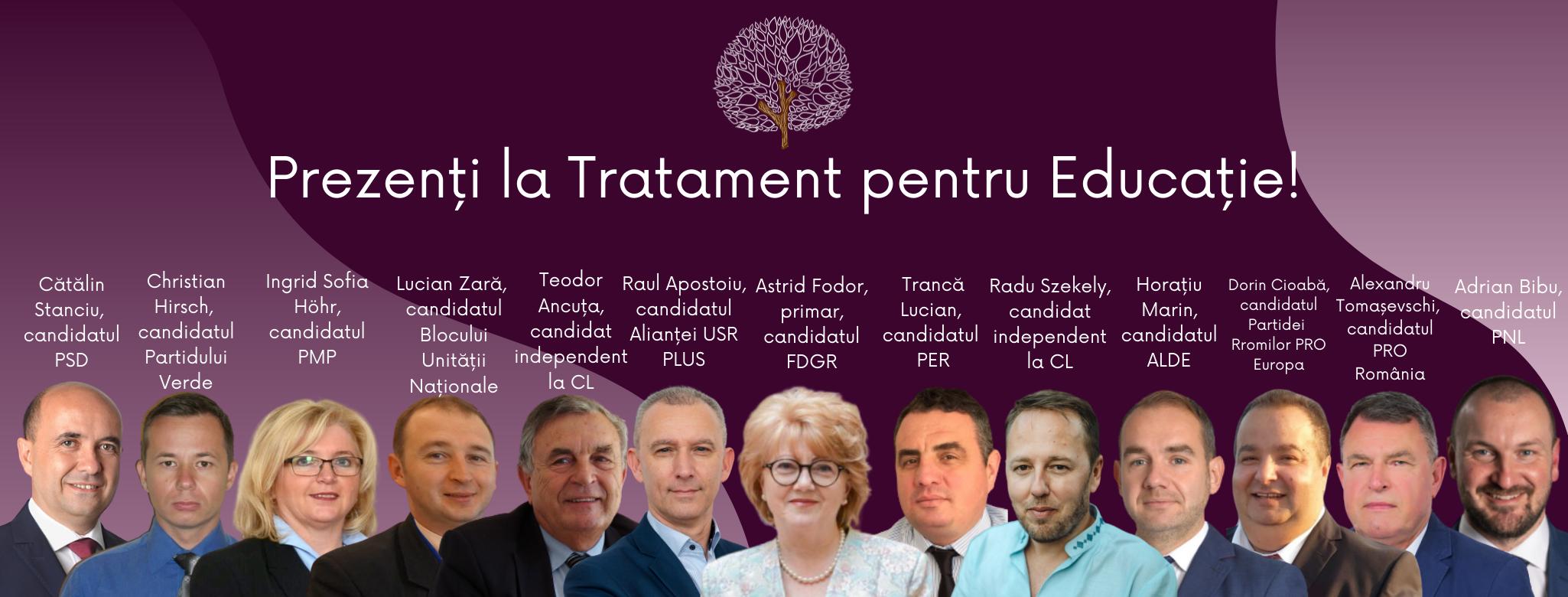 LIVE VIDEO. Candidații la Primăria Sibiu se întâlnesc în dezbatere publică în premieră