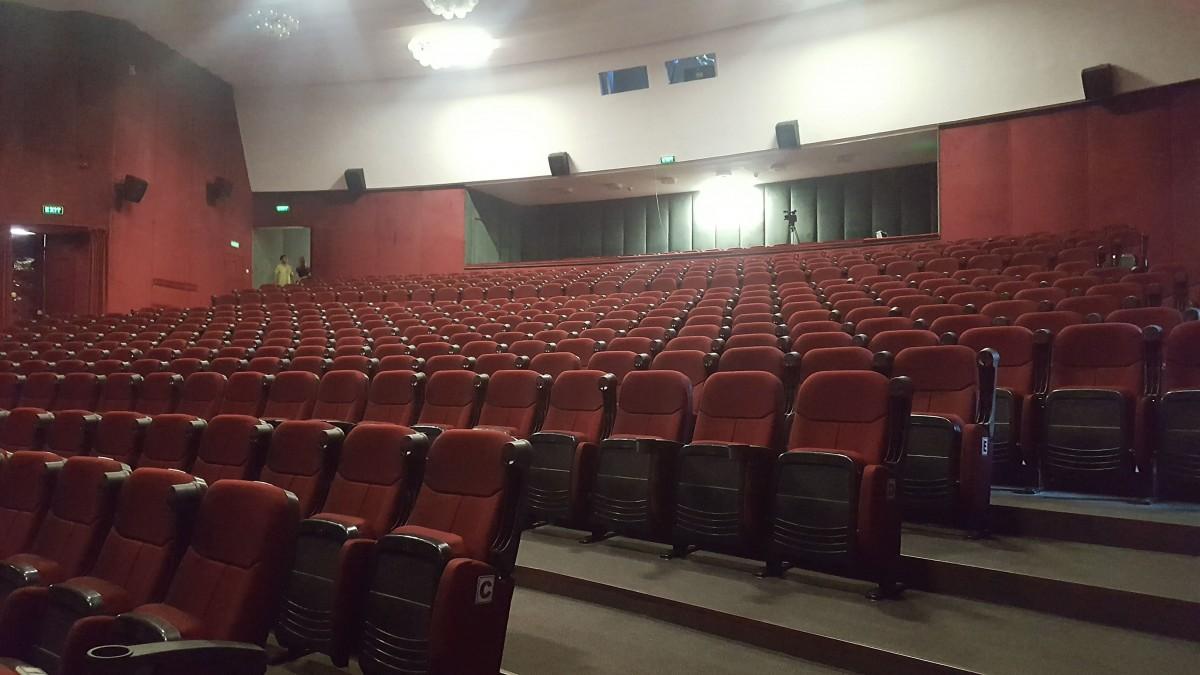 """Se redeschide Sala Mare a Centrului Cultural """"Ion Besoiu"""""""