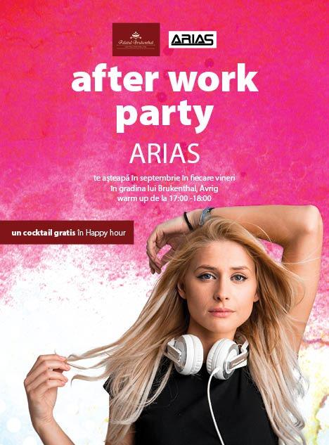 """""""Brukenthal – 300 de ani"""", meniu de sărbătoare la """"Edenul  Transilvaniei"""". Surpriza serii de vineri: After work party cu DJ ARIAS"""