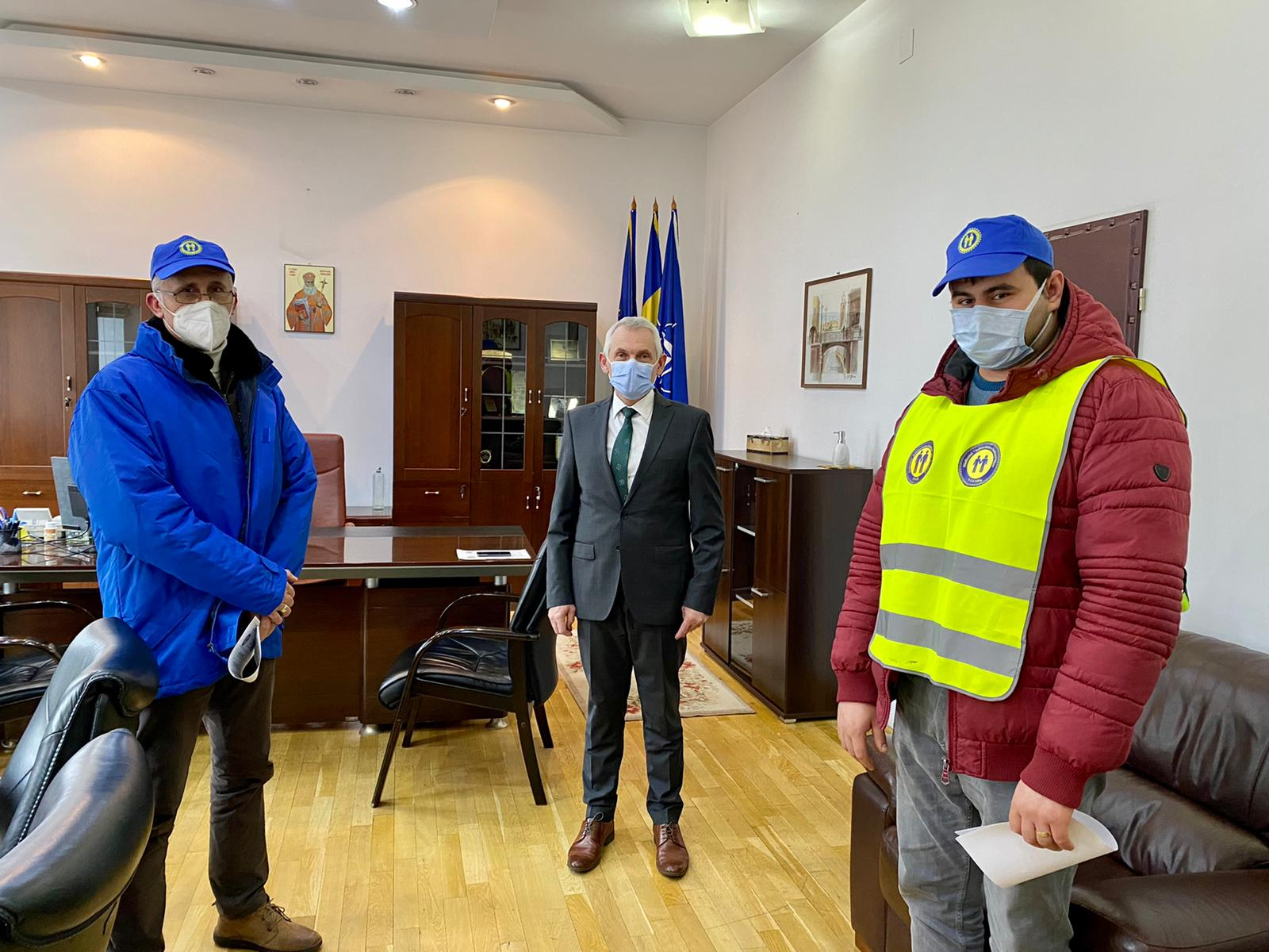 Prefectul Mircea Crețu s-a întâlnit cu sindicaliștii din sănătate: Vom transmite memoriul lor Ministerului Sănătății și Ministerului Muncii