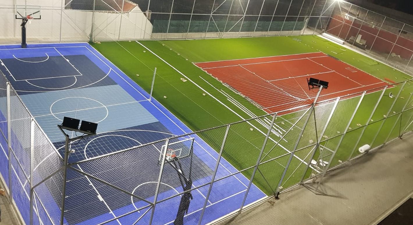 ULBS: Investiție de 1,12 milioane lei pentru terenuri multifuncționale de sport