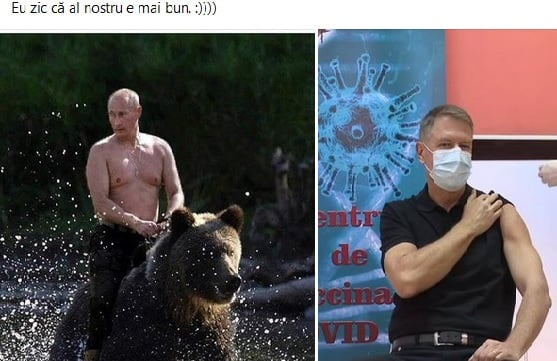 Mușchii lui Klaus Iohannis, virali în social media.