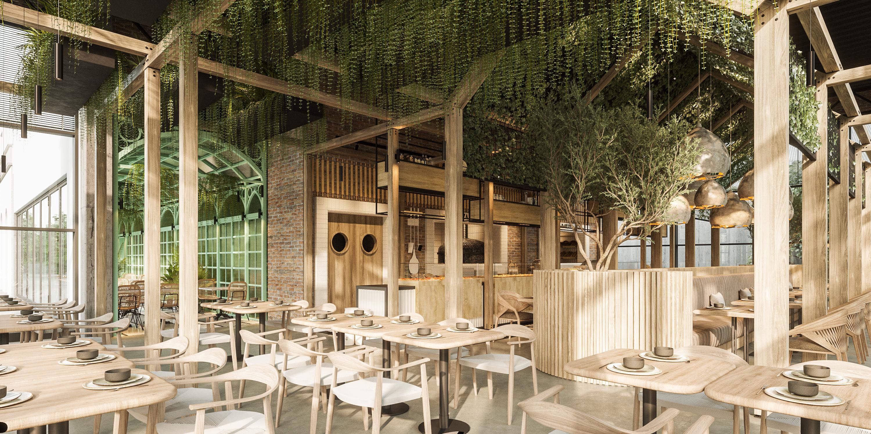 GALERIE FOTO Reîncep lucrările Bolta Rece din Parcul Sub Arini, cu un nou concept: Food market specific Europei de Vest