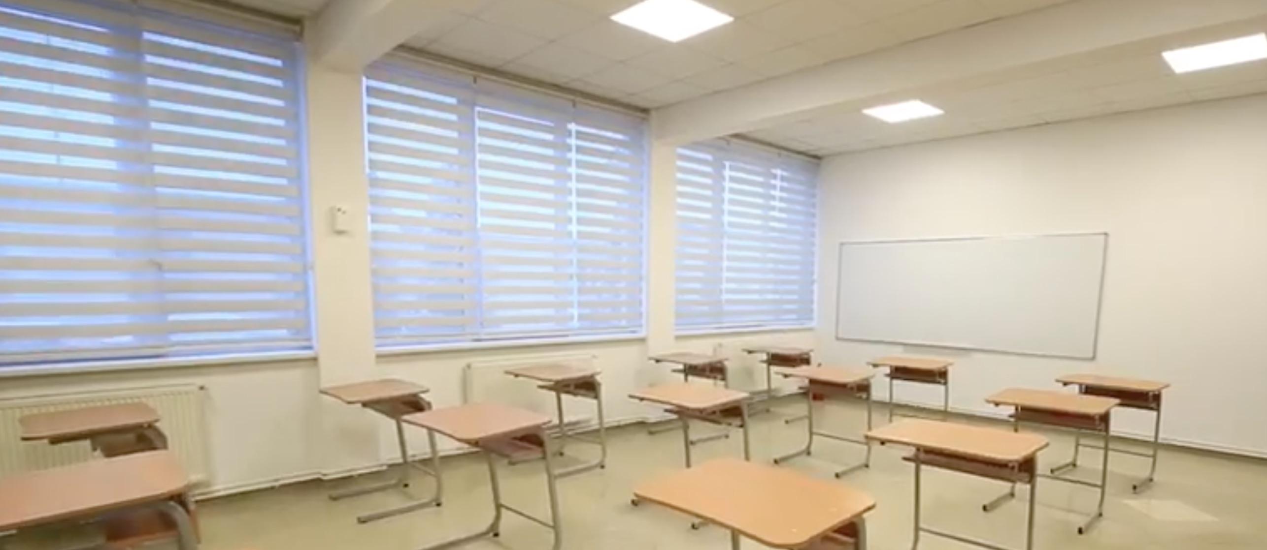 VIDEO Sediul primăriei, transformat în școală. Sală de sport și nouă săli de clasă noi, în Șelimbăr