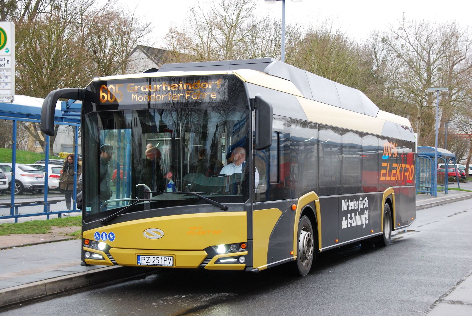 Primele nouă autobuze electrice care vor circula în Sibiu vin din Polonia. Pentru traseele 5 și 13