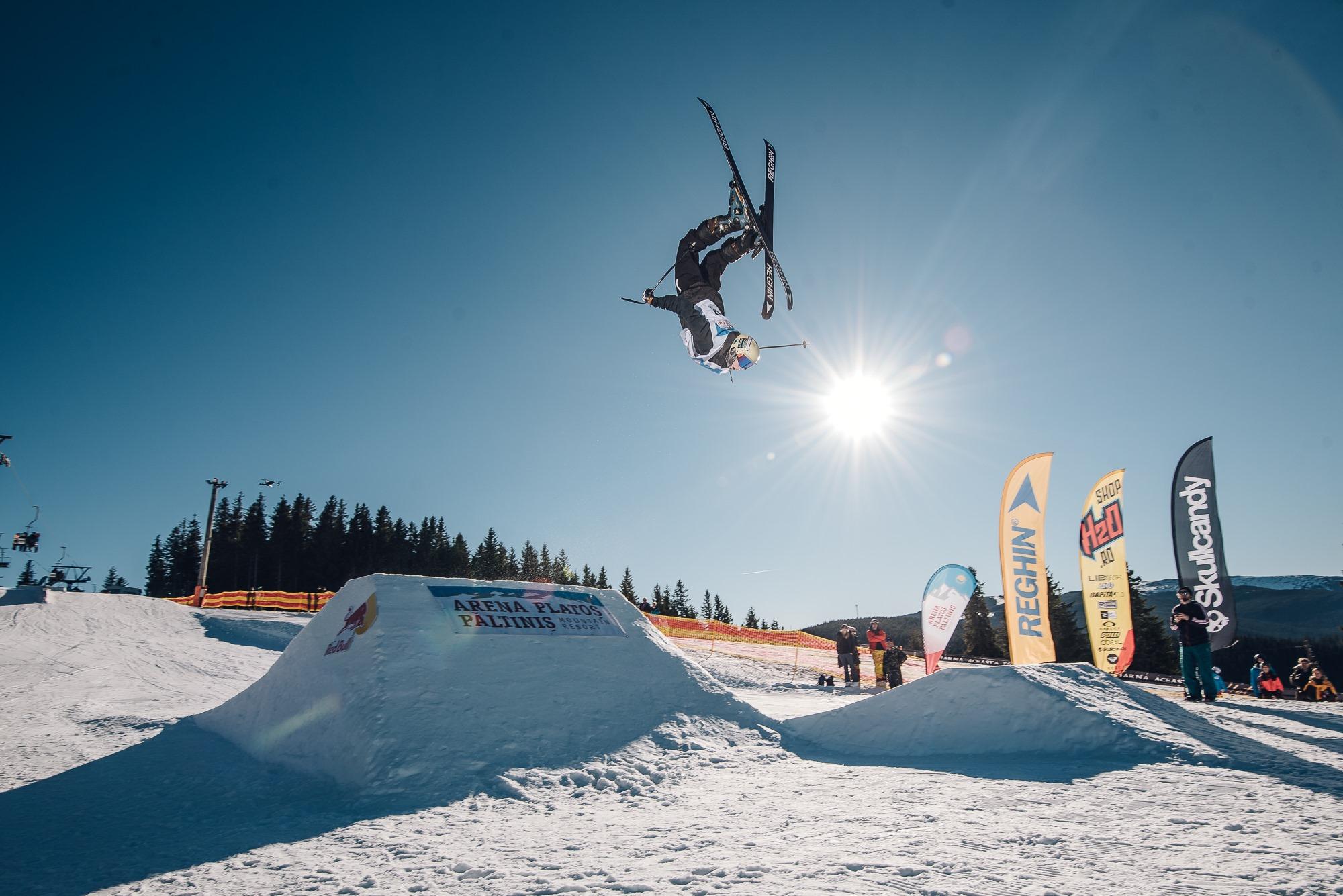 Snow-park-ul Arena Platoș va fi inaugurat vineri, cu o competiție fără spectatori