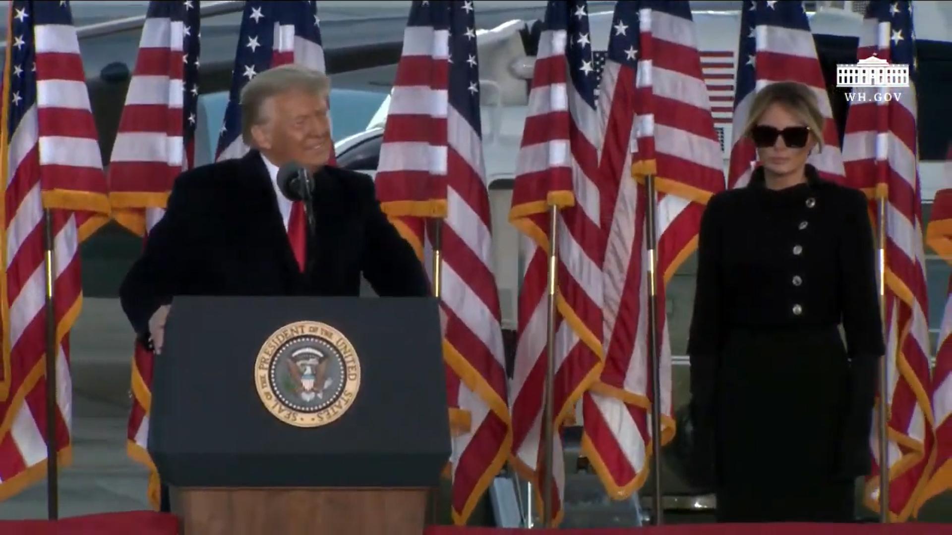 VIDEO Donald Trump a părăsit Casa Albă