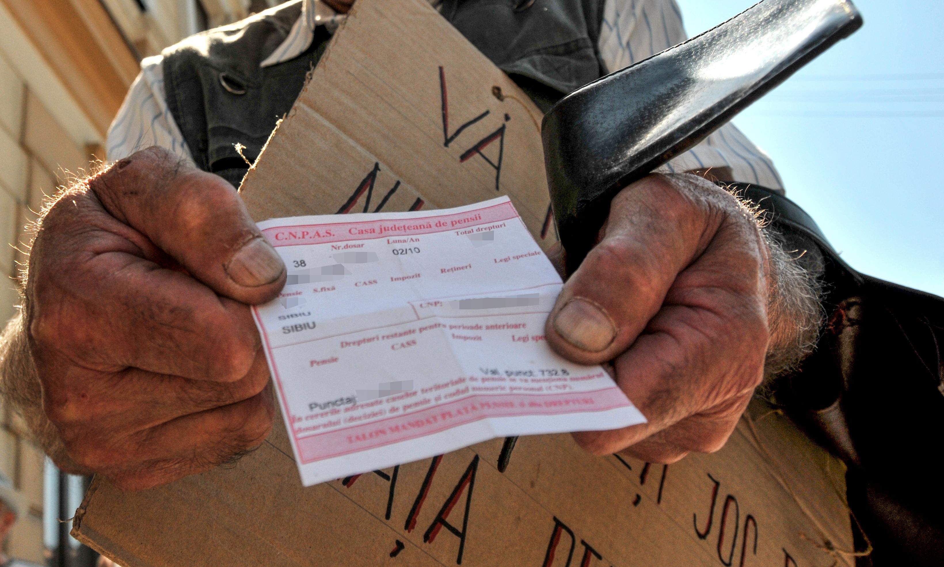 1 din 3 sibieni adulți e pensionar. 28.789 lei – cea mai mare pensie