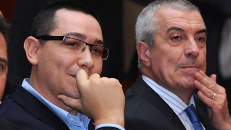 """Partidele lui Tăriceanu și Ponta nu mai fuzionează: """"Se vor concentra să reprezinte cât mai fidel interesul electoratului propriu"""