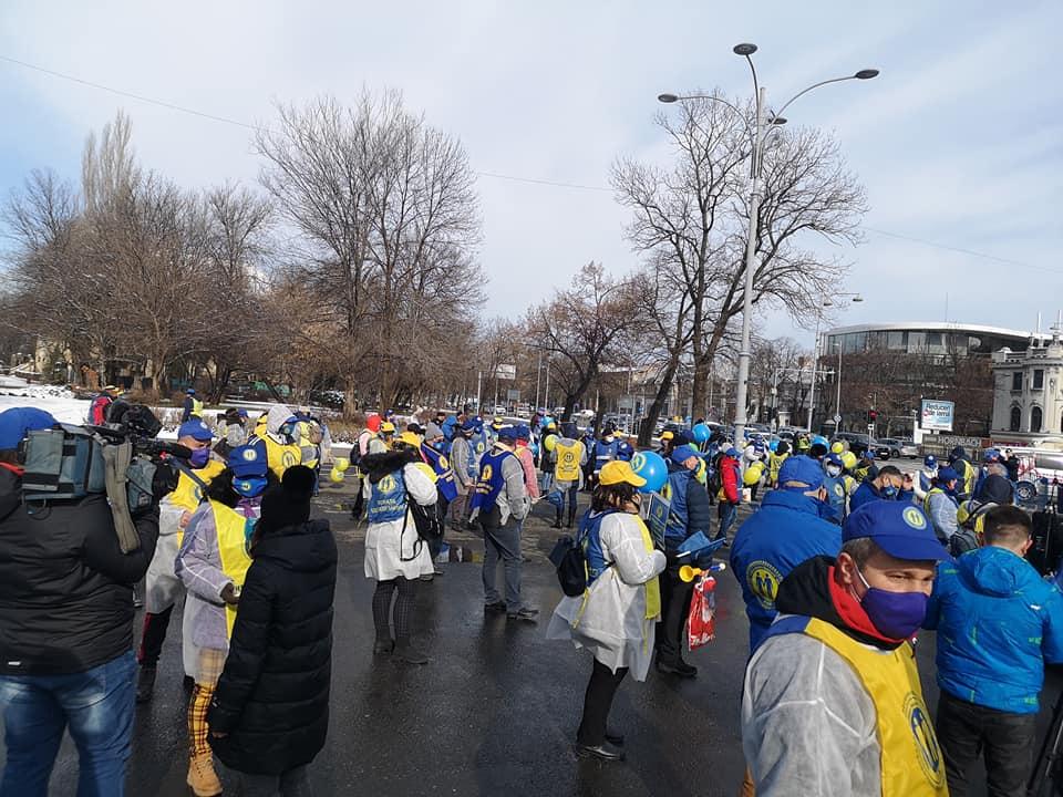 """Continuă nemulțumirile angajaților din sănătate. Sibienii de la """"Solidaritatea Sanitară"""" protestează astăzi la București"""