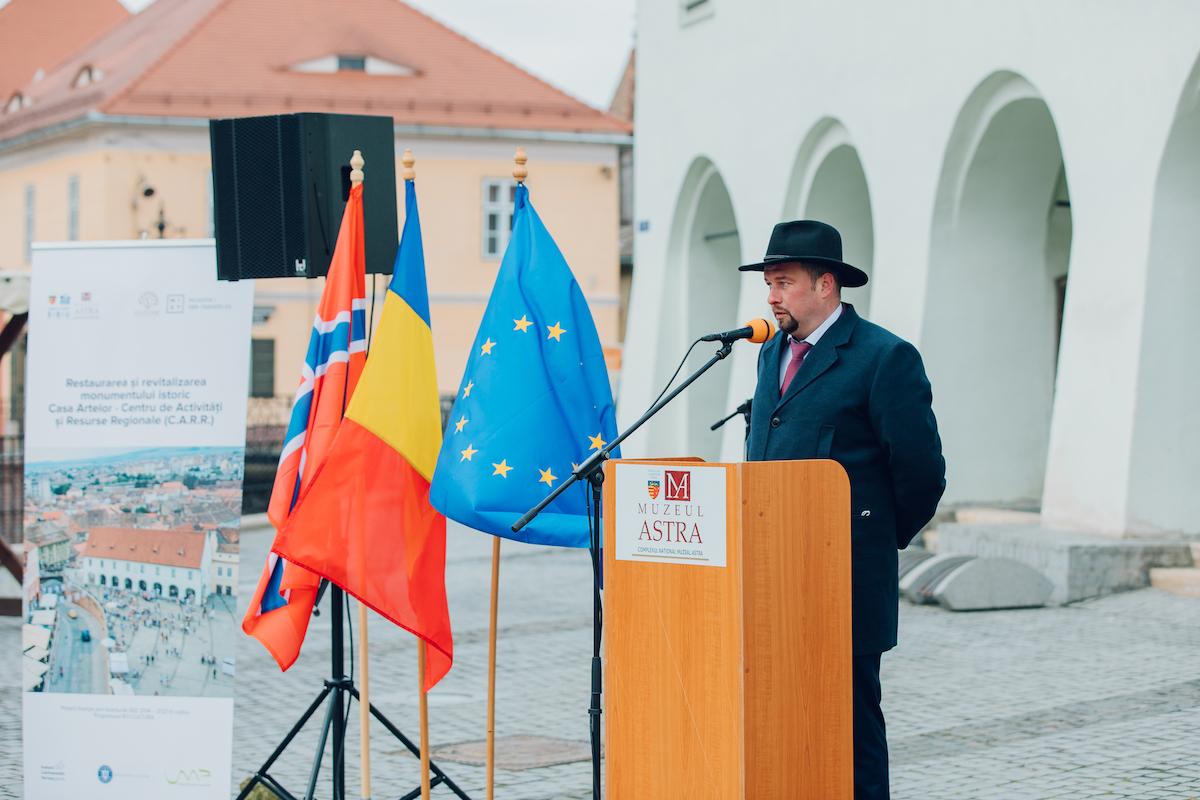 Proiectul de restaurare a monumentului istoric Casa Artelor a fost lansat oficial