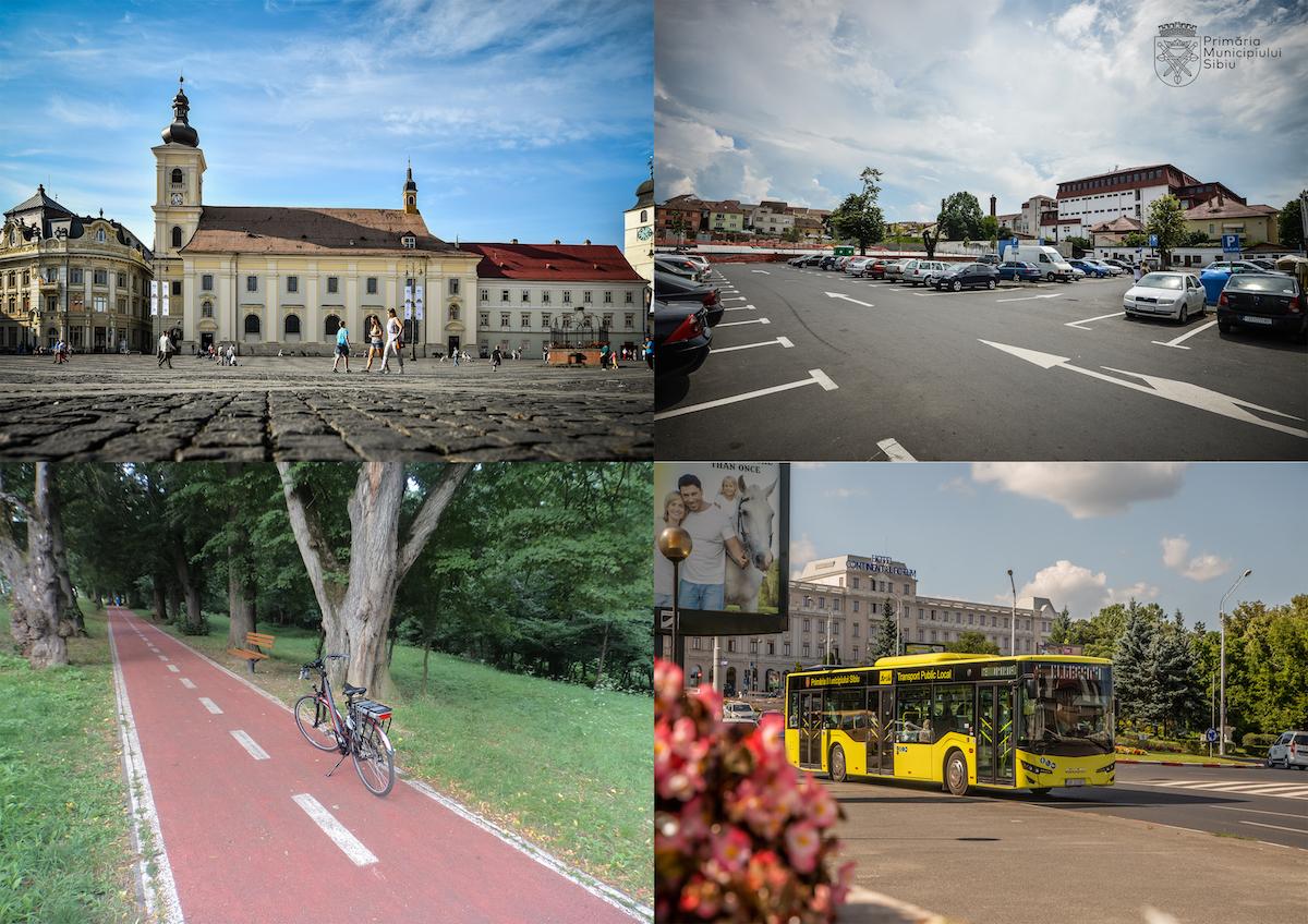 Primăria Sibiu: Începe realizarea Planului de Mobilitate Urbană Durabilă al Sibiului pentru 2021-2030