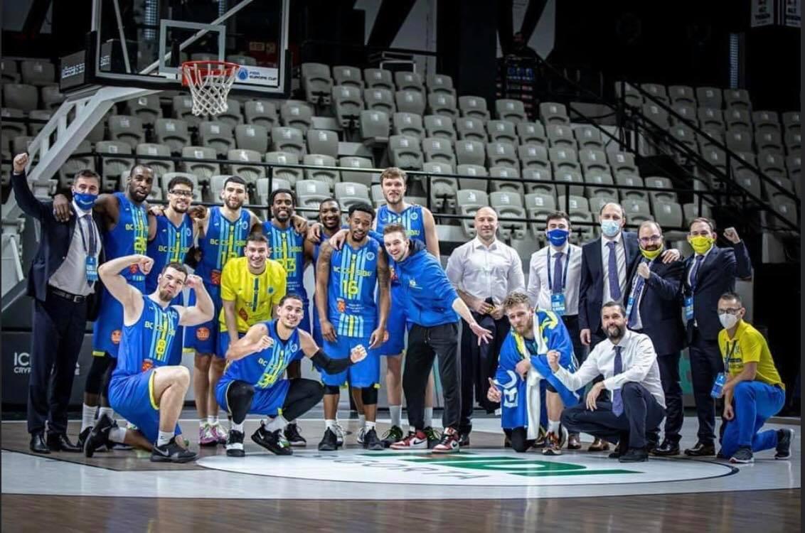 Moment istoric pentru Sibiu. Baschetbaliștii lui Dan Fleșeriu sunt în optimile de finală ale FIBA Europe Cup