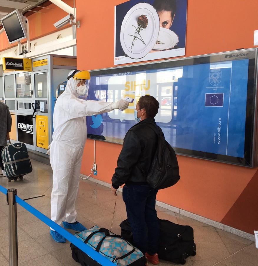 Traficul pe Aeroportul Internațional Sibiu a scăzut în 2020 la o treime. Ne-am întors în timp înainte de 2015