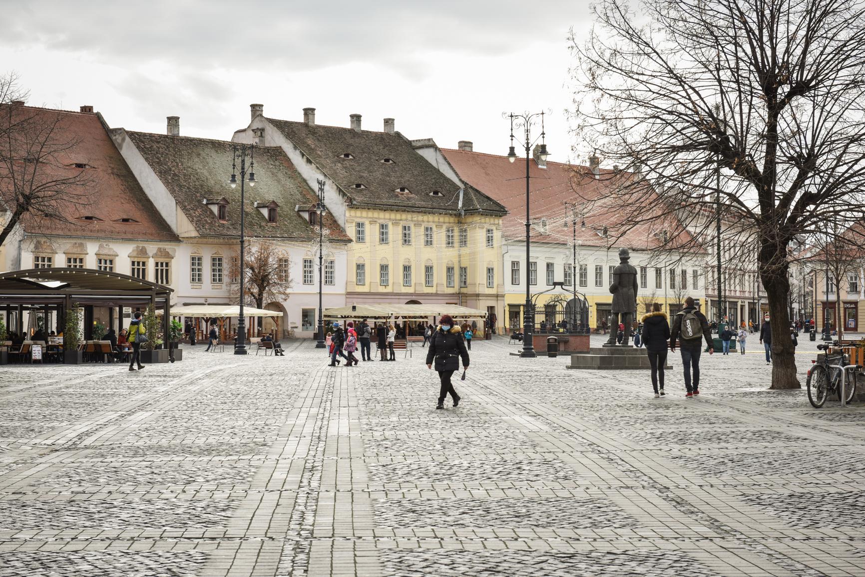 1,38 - rata incidenței în județul Sibiu. Șelimbărul este pe locul șase, iar Sibiul scade la 1,89