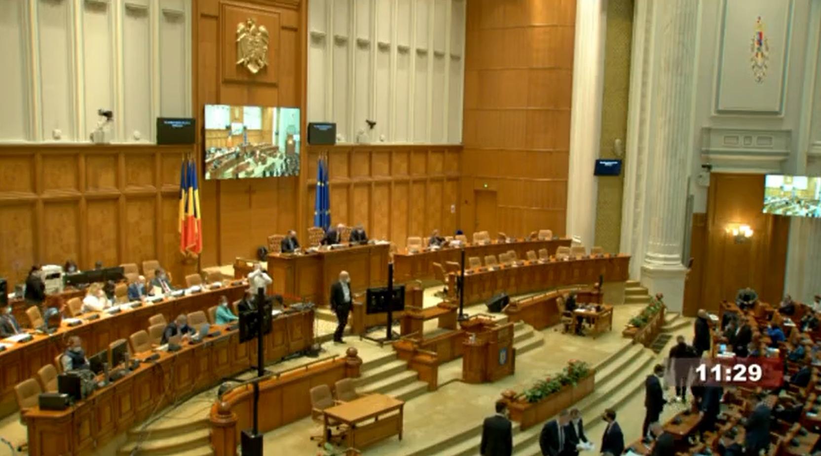 Camera Deputaţilor: Talonul de pensie poate fi transmis, la cerere, în format electronic