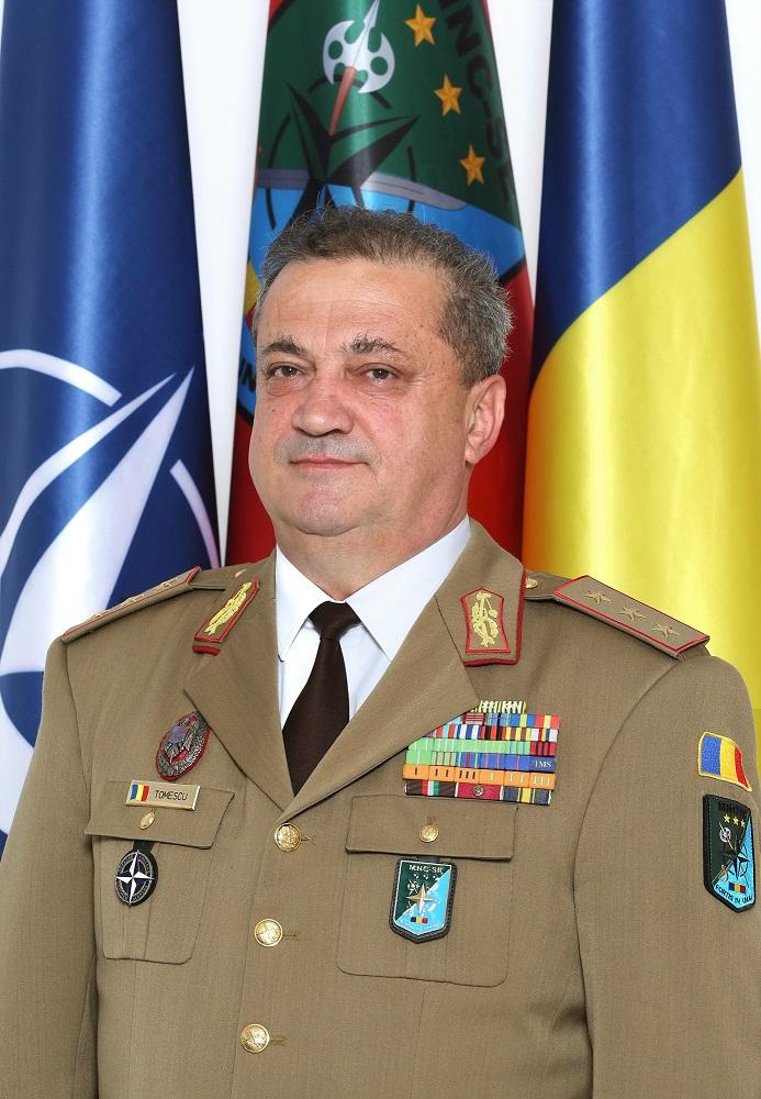 Gen. lt. Tomiță-Cătălin Tomescu, șeful Comandamentului NATO: Sibiul nu va deveni o țintă, din contră, acest comandament aduce un plus semnificativ de siguranță