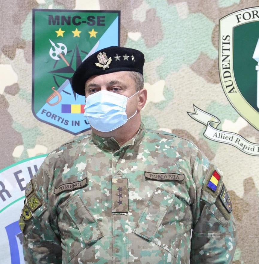 Cum schimbă noul comandament NATO fața Sibiului? Gen. lt. Tomiță-Cătălin Tomescu: Investițiile sunt semnificative și rezultatul va trebui să fie pe măsură