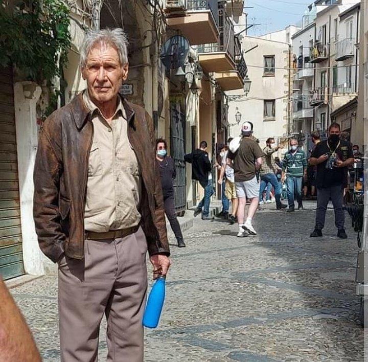 Harrison Ford a aterizat în Sicilia pentru filmările noul Indiana Jones