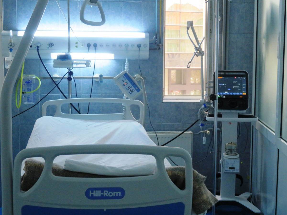 """După incendiul de la """"Matei Balș"""", Spitalul Județean Sibiu are în ATI instrumente de măsurare a oxigenului"""