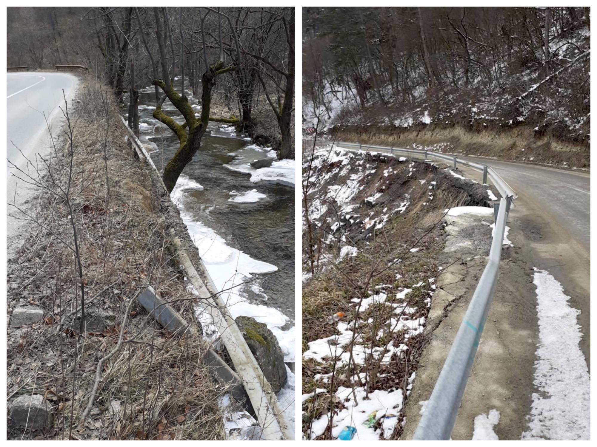 Contracte de trei milioane de lei pentru reabilitarea a 200 de metri de drumuri calamitate