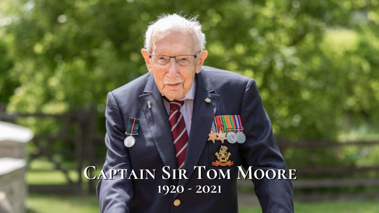 Captain Tom, veteranul de război care a strâns donaţii pentru NHS, a murit de COVID-19 la 100 de ani