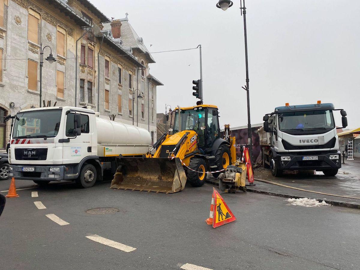 Lucrări la rețeaua de apă, cu afectarea furnizării în Orașul de Jos