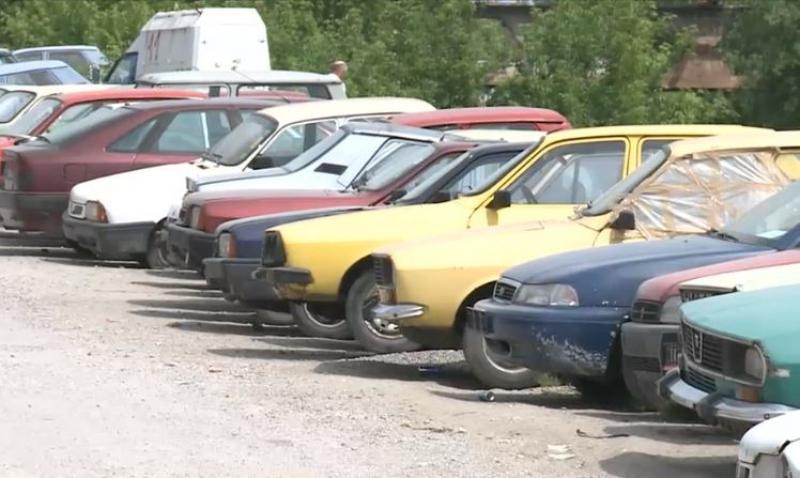 Aproape patru km din Sibiu au fost eliberați de rable. 100 au ajuns la fier vechi