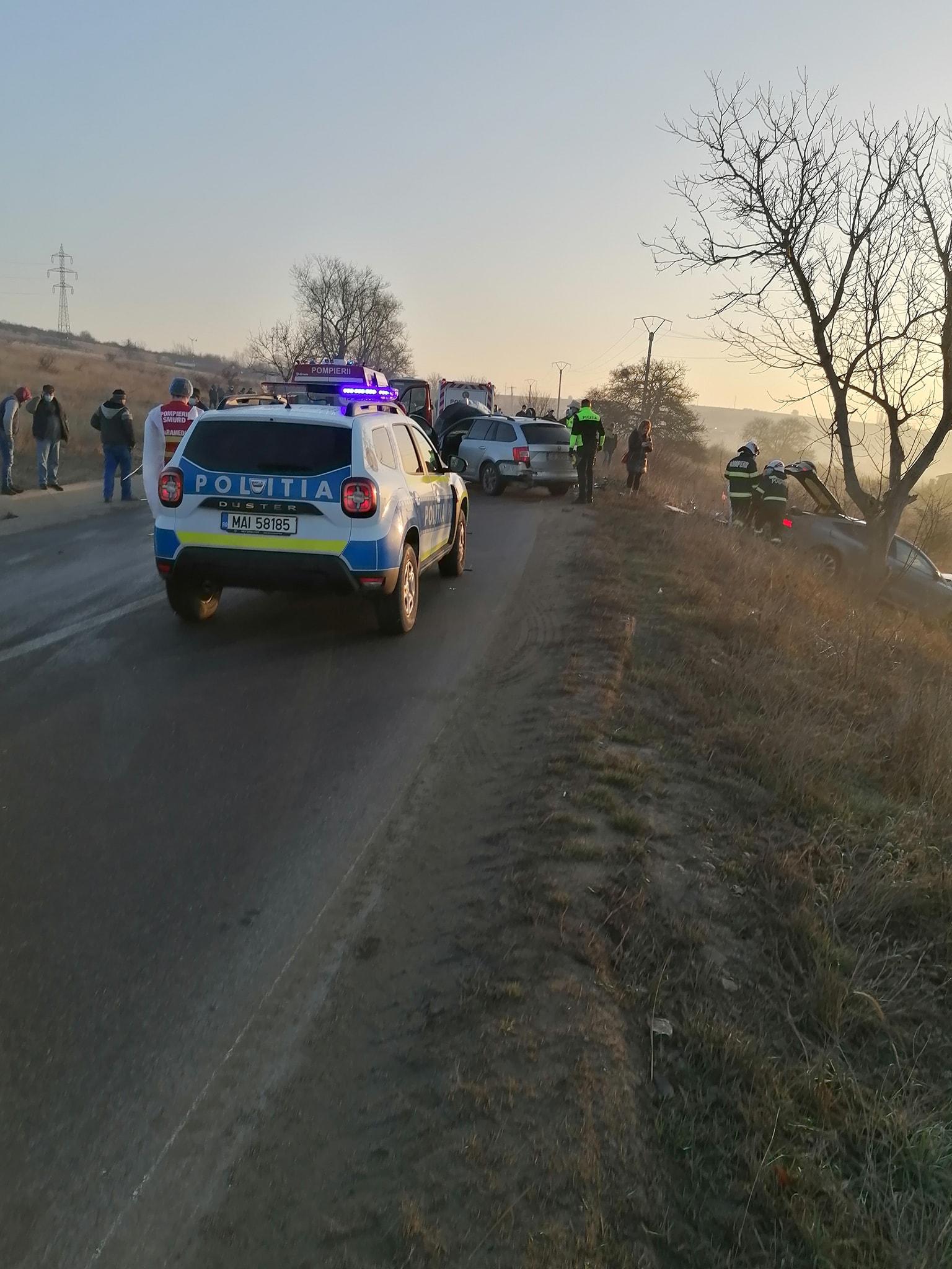 Două persoane au fost rănite într-un accident, în zona Bavaria, din cauza unui șofer băut