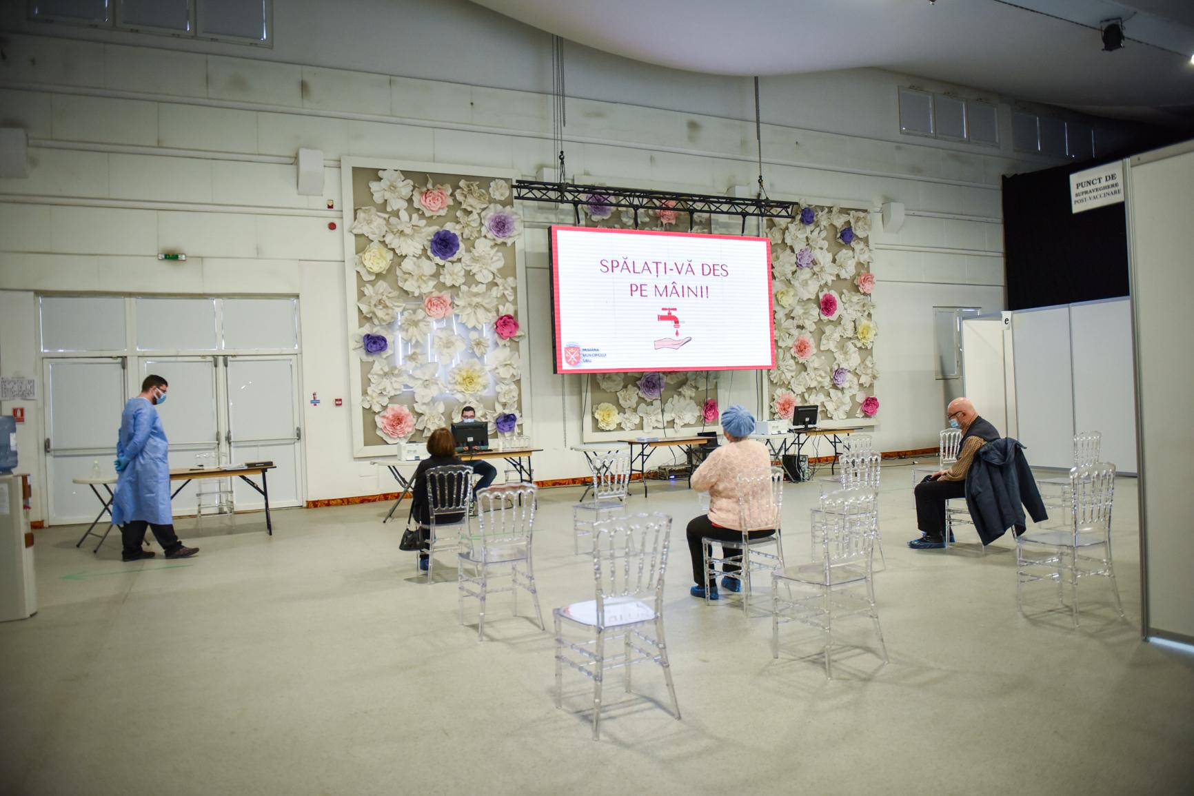 Cine sunt cei care s-au vaccinat în Sibiu, în etapa a doua: 59,04% - persoane vârstnice