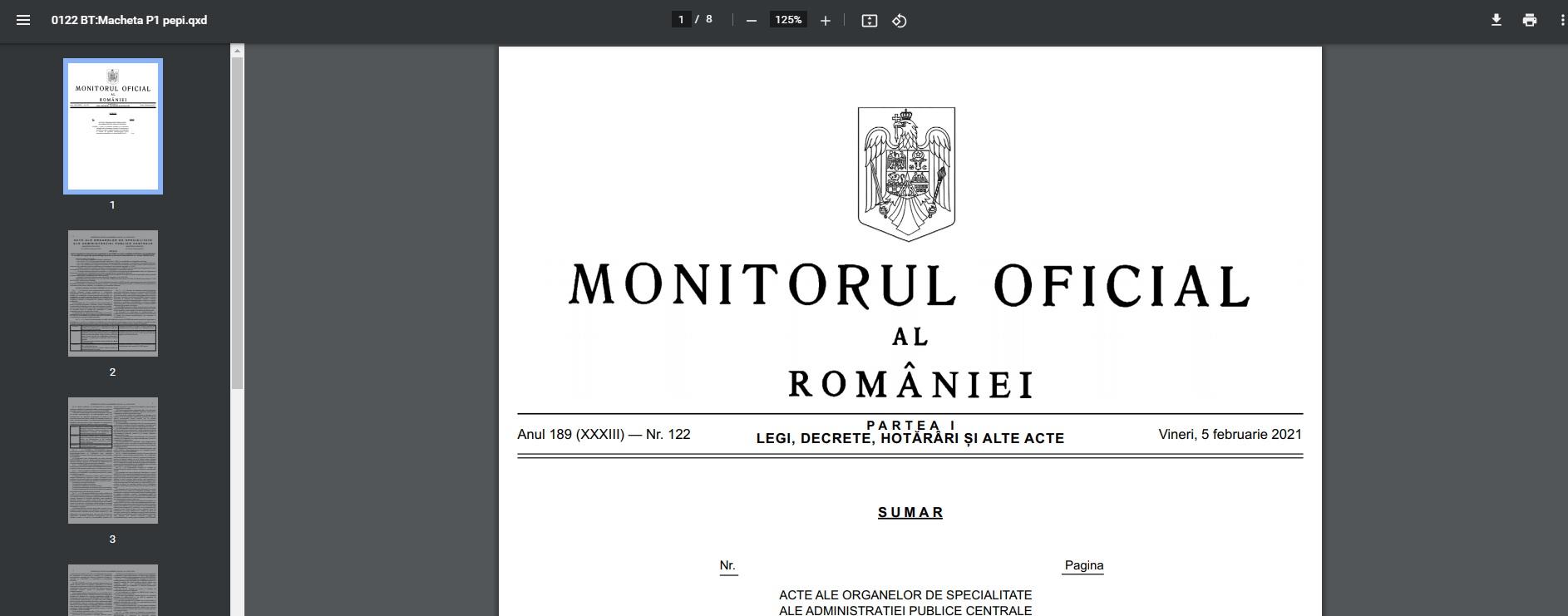 Document: Ordinul comun al Ministerului Educației și Ministerului Sănătății pentru redeschiderea școlilor