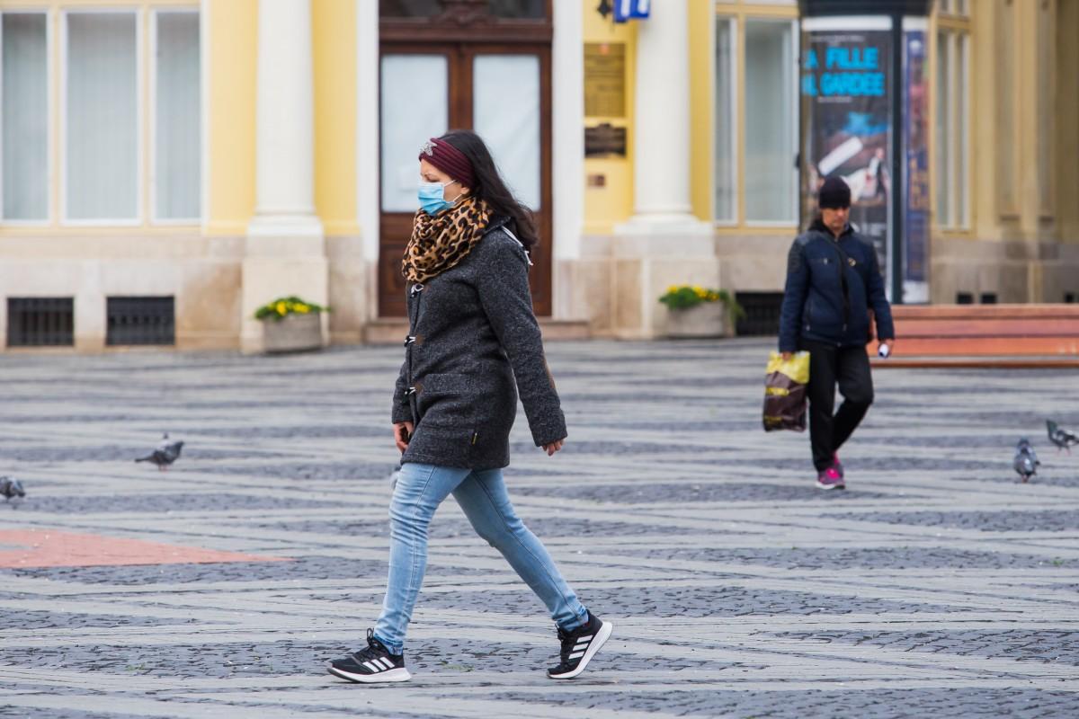 Rata de infectare continuă să scadă la Sibiu. A ajuns la 1,06 la mia de locuitori, de la 1,09