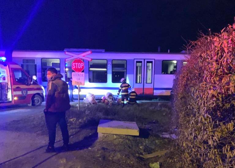 VIDEO Accident mortal la trecerea de cale ferată din Ștrand. Suspiciune de sinucidere