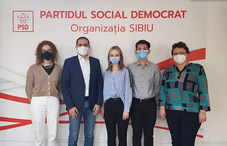 PSD Sibiu apără interesele elevilor și ale salariaților