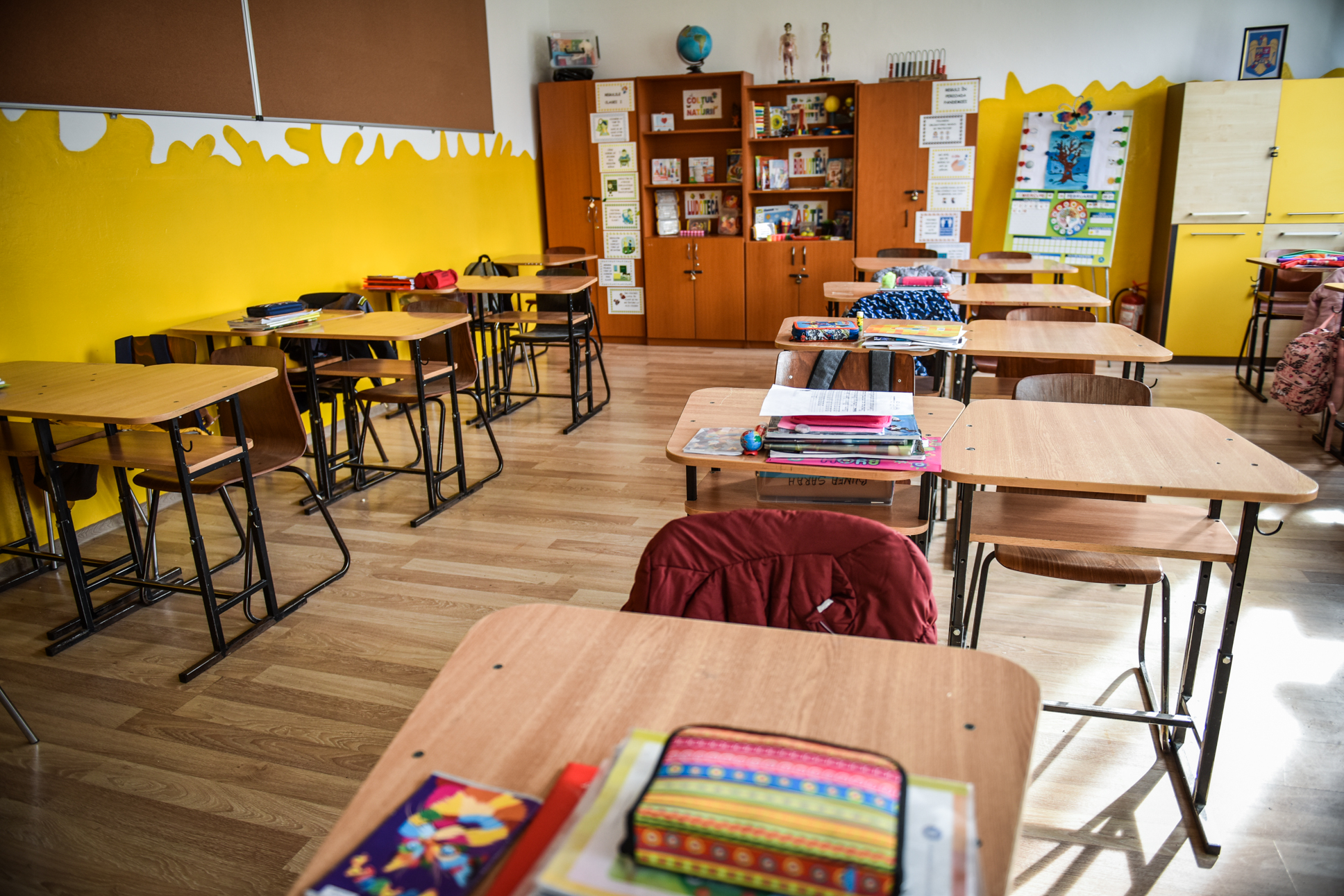Peste 130 de elevi și cadre didactice s-au infectat cu SARS CoV-2. Șase în ultimele 24 de ore