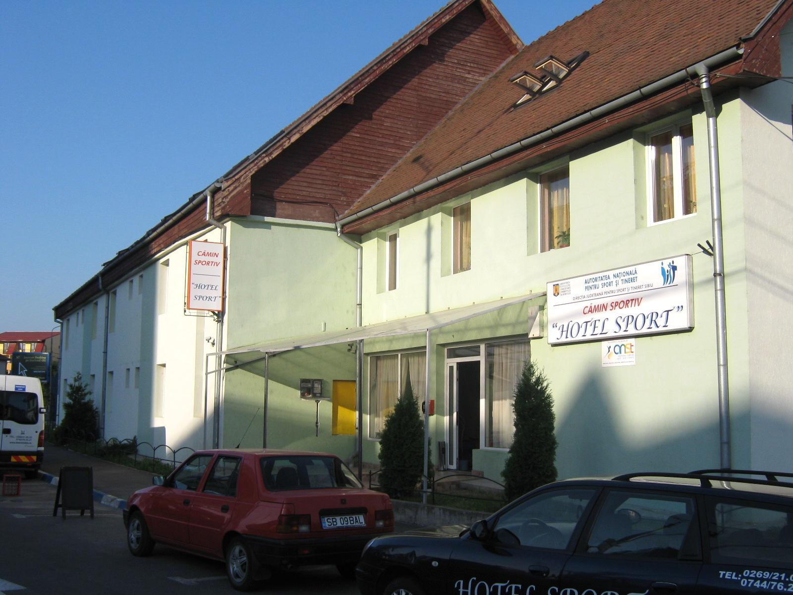 Sibiul cere Guvernului să îi transfere în proprietate Hotelul Sport
