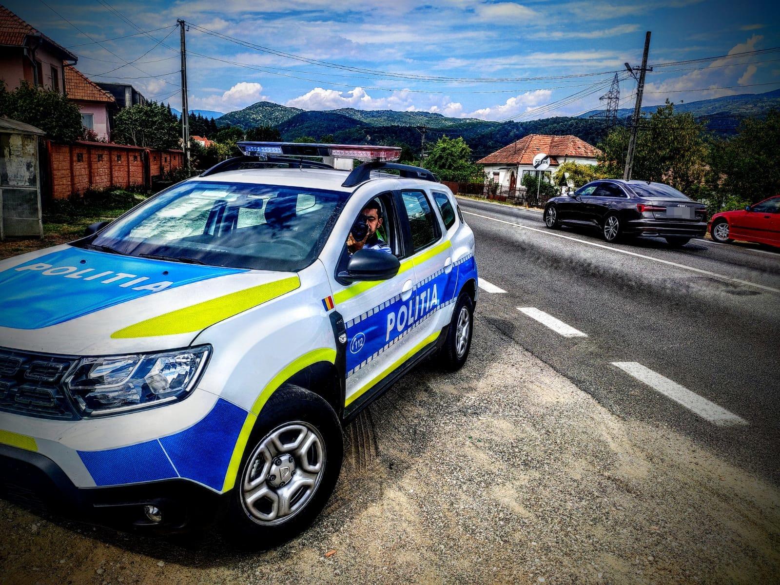 Șofer prins de radar cu 122 km/h pe bulevardul Vasile Milea
