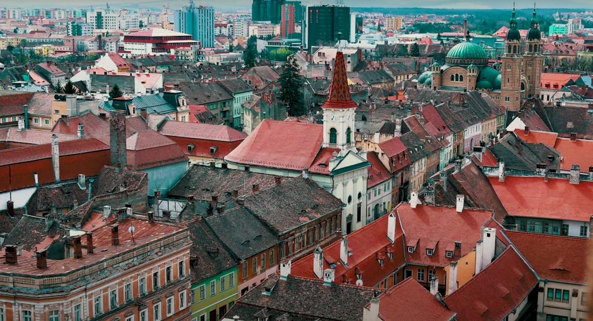 """Sibiul, decor pentru un nou film: """"Am căutat pitorescul vechi al orașului"""" - VIDEO"""