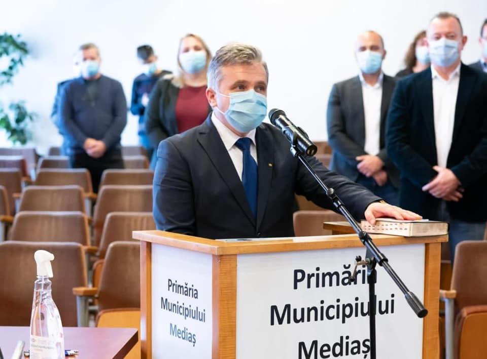Primarul din Mediaș: am semnat contracte cât bugetul de investiții al orașului pe șase ani