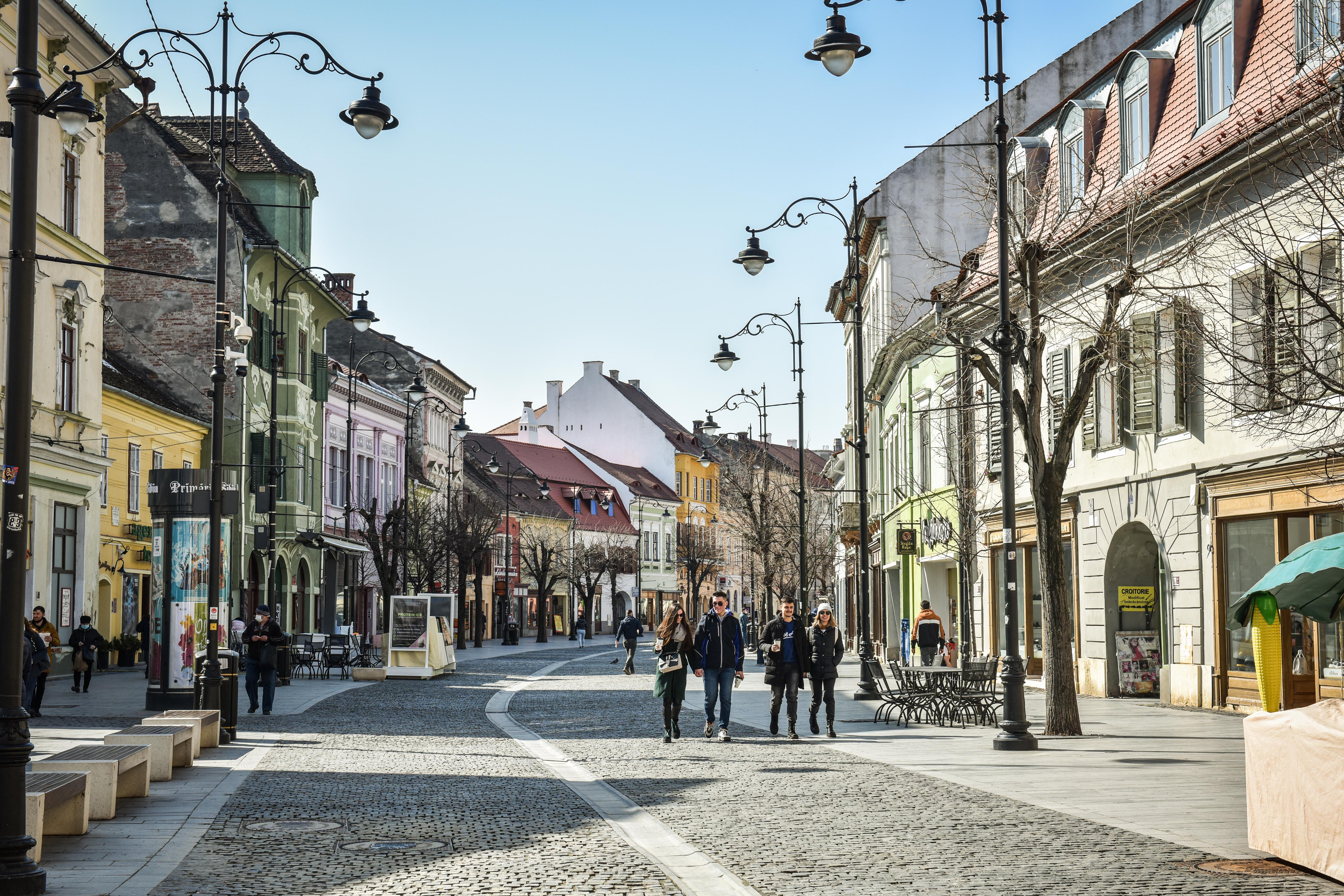 4,81 - incidența crește din nou în municipiul Sibiu, cu 820 de cazuri active. Situația în localitățile județului