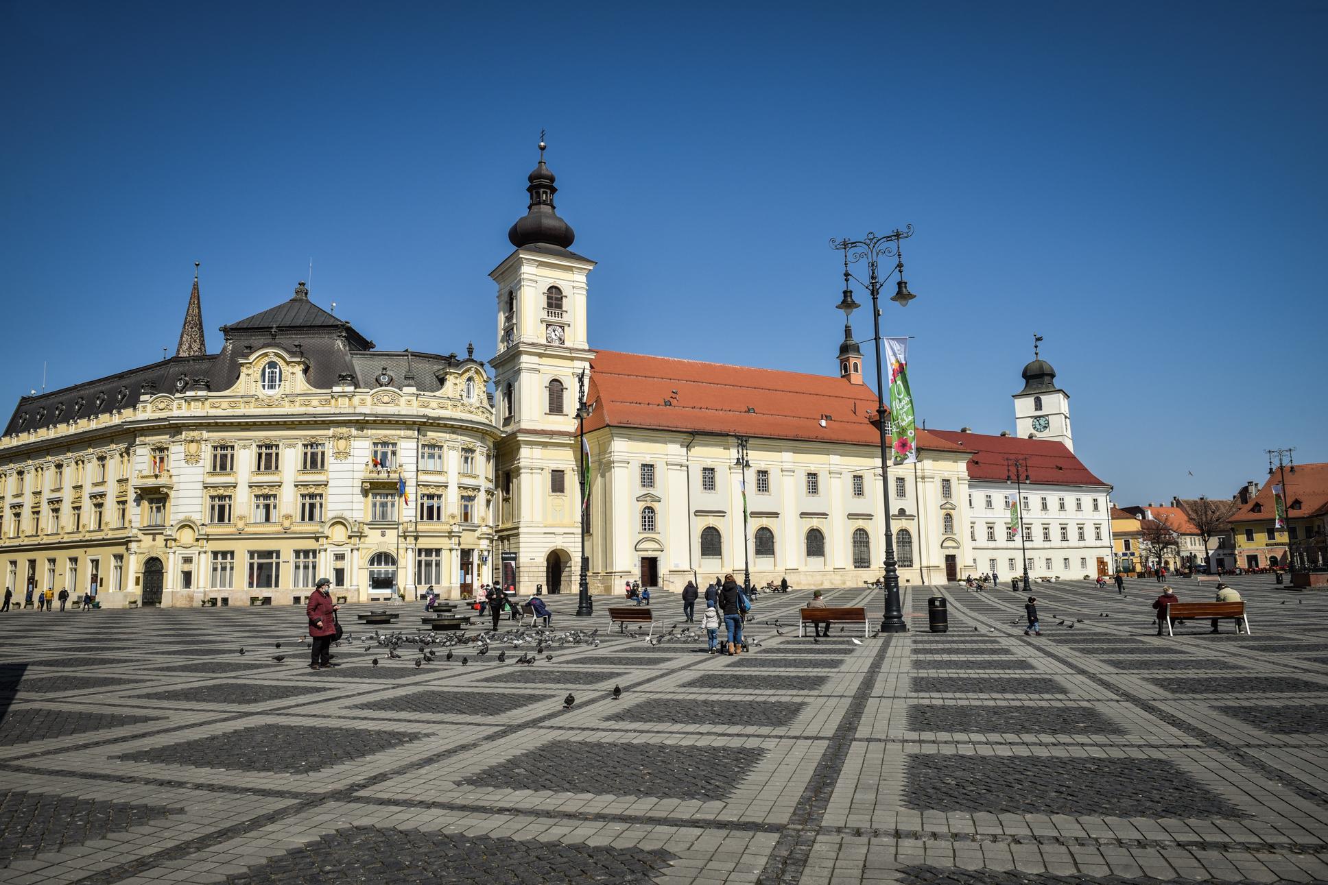Incidența continuă să crească în Sibiu și Cisnădie, dar scade ușor în Șelimbăr. Situația în localitățile județului